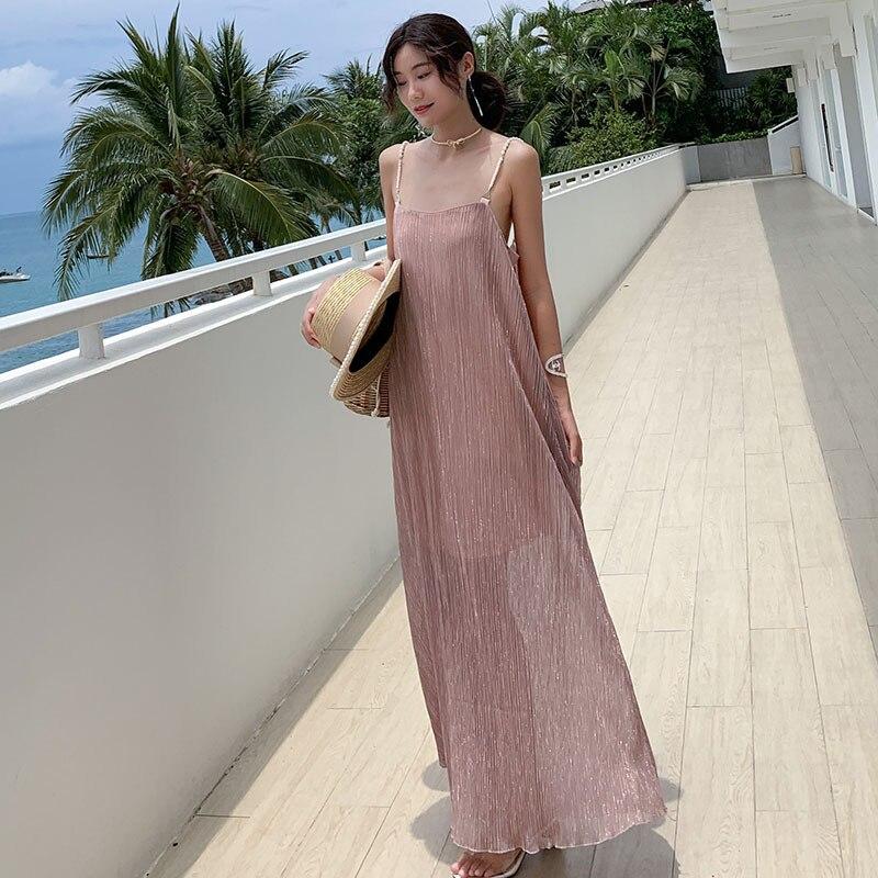 Maldives Slimming Bali Seaside Holiday Set Immortal Bohemian Thailand Long Skirts