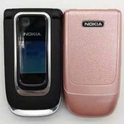هاتف نقال أصلي 6131 غير مقفول مجدد من نوكيا 6131 زهيد الثمن GSM مع كاميرا وراديو FM وبلوتوث عالي الجودة لوحات مفاتيح متعددة