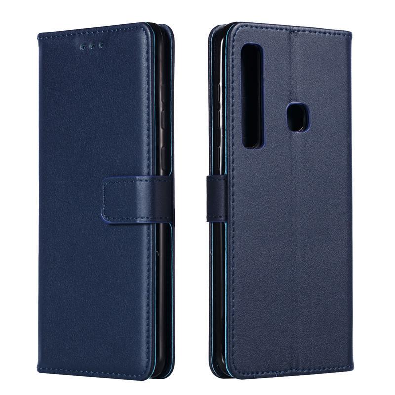 PU Leather Flip Case For Samsung Galaxy A6 A7 A8 A9 2018 Plus A3 A5 2015 2016 2017 A10E A20E A20 A30 A40 A50 A60 A70 A10S Cover