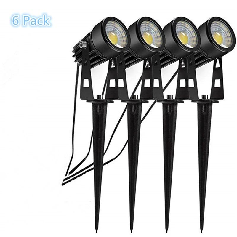 landscape lights 12v low voltage lighting kits led outdoor spotlights driveway yard lawn patio swimming pool garden lights 1w 3w