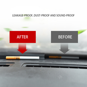 Image 4 - 1.6M 자동차 앞 유리 대시 보드 방음 씰 씰링 고무 스트립 자동 소음 방음 씰 테이프 액세서리 인테리어