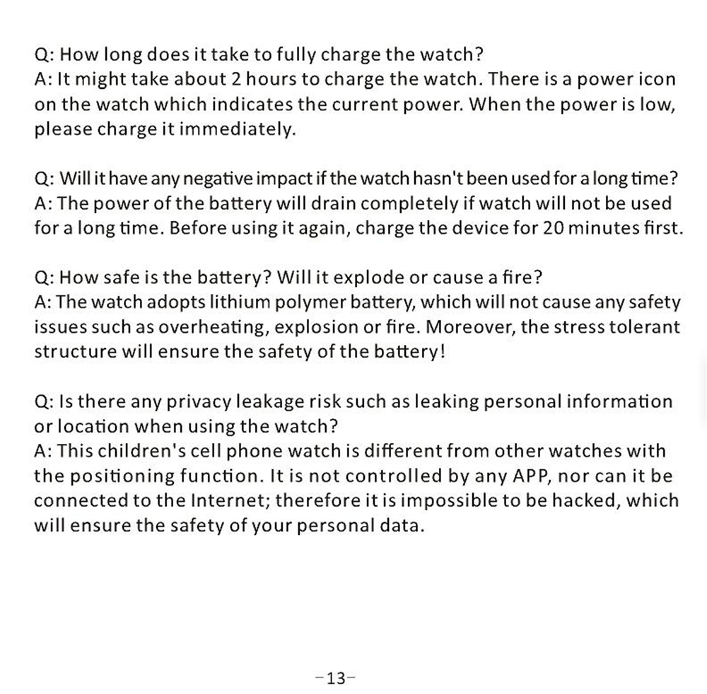 crianças à prova dwaterproof água relógio inteligente