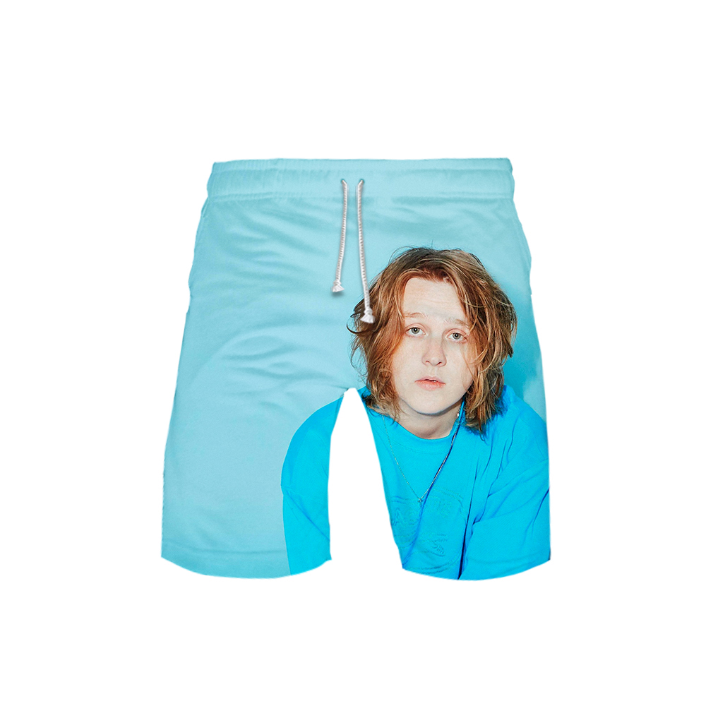 2019 3D Lewis Capaldi Swimwear Swim Shorts Trunks Beach Board Shorts Swimming Pants Swimsuits Mens Running Sports Surffing