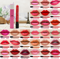 24colour Matte Liquid Lipstick Waterproof Moisturizer Smooth Lip Stick Long lasting Lip Tint Cosmetic Lip Makeup