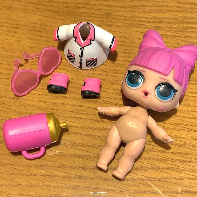 Lot LOL Surprise Doll Big Sister Confetti Pop Sugar Flower Child Cherry Queen Bee L.O.L. Toys Children Kids Gifts 5