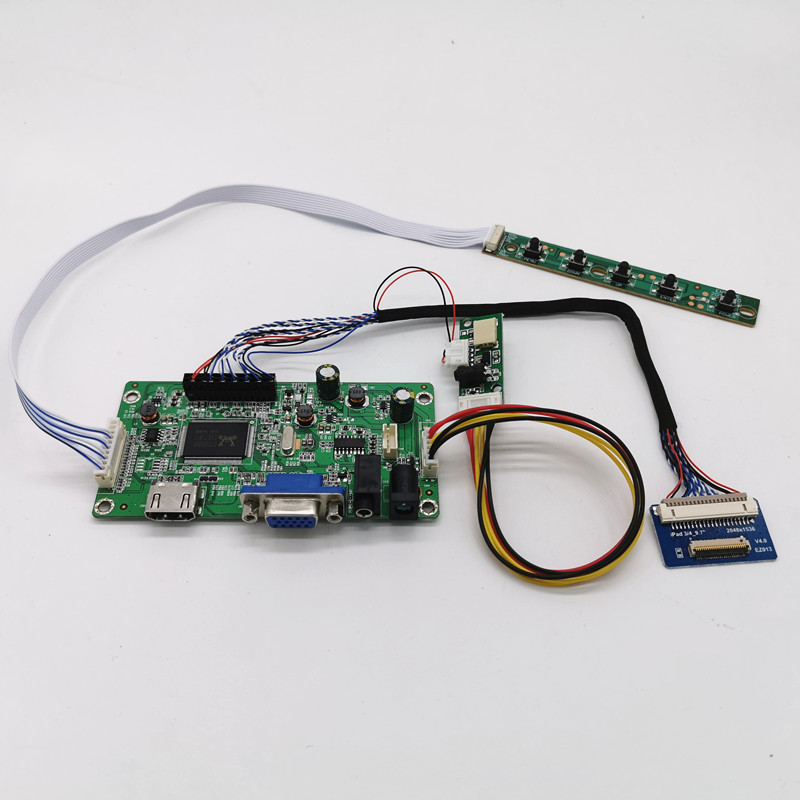 HDMI DVI VGA Audio Board for 15.6inch 1366*768 LTN156AT24 LTN156AT26 LTN156AT29