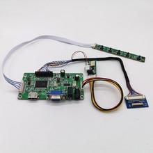 """Płyta kontrolera HDMI + VGA + AUDIO dla ipada 3 4 9.7 """"LQ097L1JY01 LTL097QL01 A01/W01 2048x1536 sygnał EDP 4 pasy 51 pinów wyświetlacz LCD"""