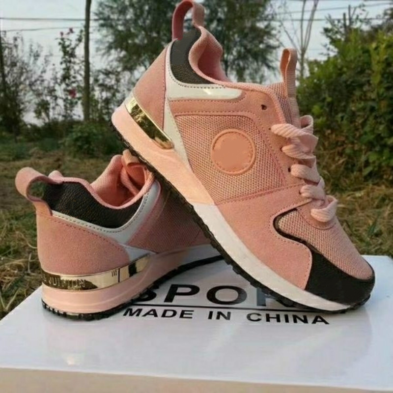 Women's Running Shoes With Sneakers Breathable Mesh Shoes Men's Sports Shoes Color Sneakers High Quality Couple Shoes