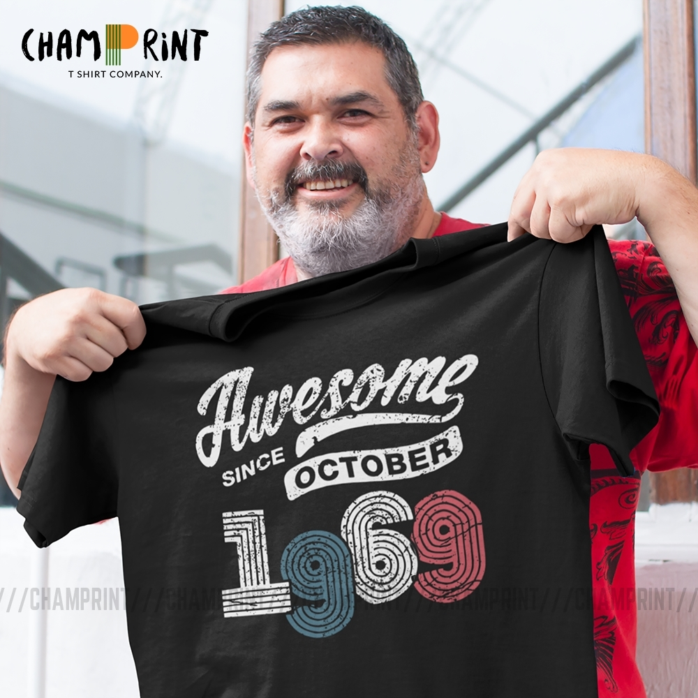 THIS IS WHAT AN AMAZING 50 YEAR OLD.. T-SHIRT Fiftieth Birthday Gift Cotton