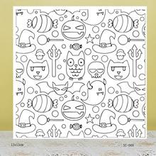 AZSG Little Devil Clear Stamps For DIY Scrapbooking/Card Making/Album Decorative Rubber Stamp Crafts