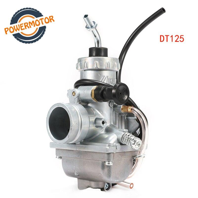 Motocicleta 28mm VM24 Mikuni Carburador ForYamaha DT125 DT175 RX12Suzuki TZR125 RM65 RM80 RM85 Bicicleta Da Sujeira