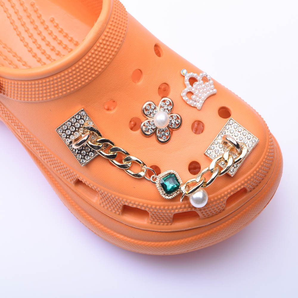 Shoes Designer For Croc Chain Shoes Accessorices For Adult