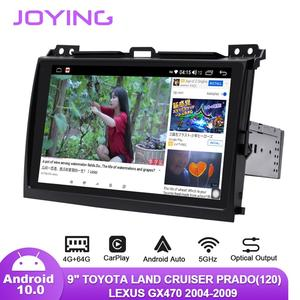 "Image 5 - 9 ""Android10รถวิทยุสำหรับToyota Land Cruiser Prado 120/Lexus GX470 2004 2009 GPS Carplay Android Auto DSP SPDIFซับวูฟเฟอร์DAB"