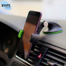 360 degree Phone Holder Car For iPhone 11 Pro XS MAX XR 6s 7s 7 8 Plus Mobile Car Holder Smartphone Windshield Cell Phone Stand