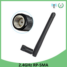5pcs 2.4 GHz WiFi Antenna 3dBi Aerial RP-SMA Male Connector 2.4ghz antena wi fi antenne For Wireless Router Wifi Booster 2 4ghz rf 3dbi rp sma female wi fi booster antenna for wireless router wlan diy