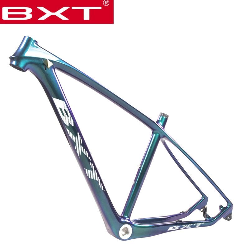 29er Carbon Frame MTB T800 Carbon Cross Country Mountain Bicycle Frame Disc Brake Chameleon Hardtail Carbon MTB Frame BAS