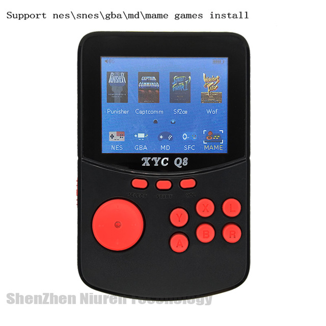 With 512M32G TF Card Retro Handheld Video Games Console For NESSNESMAMEMDGBA 16 Bit Arcade Game Players 10000 Games TV Out 3