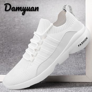 Damyuan 2020 Breathable Men Shoes Casual Mesh Running for men Sneakers Zapatillas Hombre deportiva black shoes