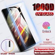 Закаленное стекло для Samsung Galaxy S21 Plus Note 20 Ultra S10 S9 S20 Plus S10E S 9 8 10 Note 9 10