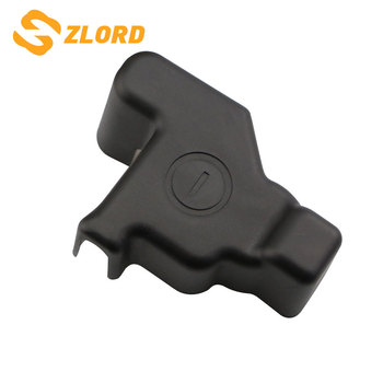 Zlord Fit for Toyota RAV4 RAV 4 2016 2017 2018 Car Negative Battery Electrode Waterproof Dustproof Protective Cover Car Styling image