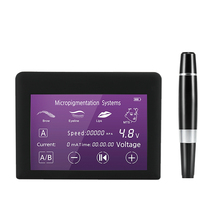 Цифровой PMU тату машина набор для стартера Перманентный макияж ручной инструмент