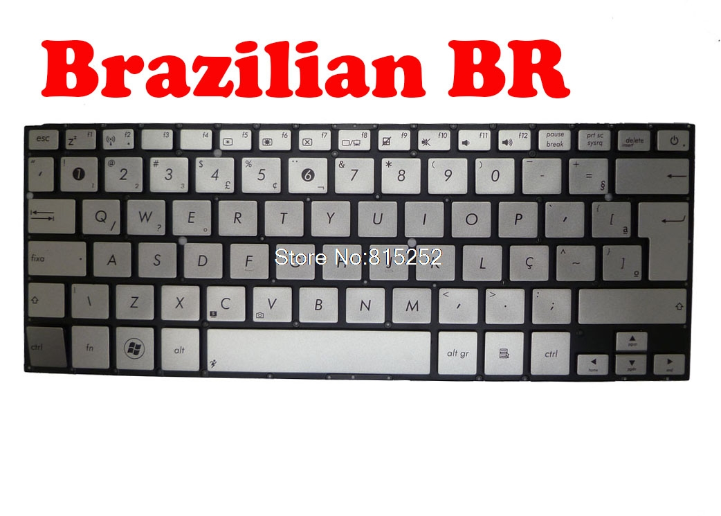 Laptop Keyboard for ASUS UX31 UX31A UX31E UX31L UX31LA Sliver Without Frame MP-11B16CH6528 0KNB0-3100SF00 0KN0-LY1SF02 Swiss SW
