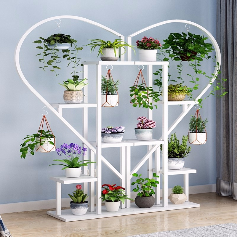 Indoor A Living Room Chlorophytum Bedroom Household Province Space Balcony Decorate Heart-shaped Originality