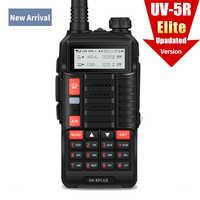 Baofeng Walkie Talkie uv 5r Updated version UV-6 Plus & UV-5R Plus Dual Band VHF UHF 128CH USB-Charging two way radio
