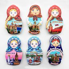 Русский креативный 3d туристический памятный подарок полимерный