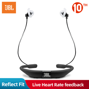 JBL Reflect Fit Wireless Headphones Bluetooth Heart Rate Call Reminder Sport Waterproof IPX7 Stereo Music Earphone with Mic