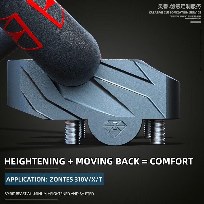 Подходят для удлинителя руля Zontes 310 в, модель 310x, высота руля 310 т, направление руля перемещается назад