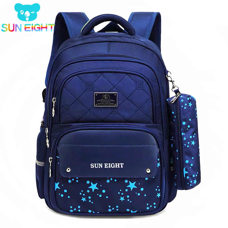 Mochilas escolares de gran capacidad con cremalleras para niños mochilas escolares para niños Mochila de nailon para niñas mochilas escolares