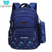 Zippers Large Capacity Boy School Backpacks School