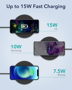 Image 3 - ESR Wireless Charger สำหรับ iPhone 12 /12 Pro/12 Pro Max/12 Mini 15W PD Fast ไร้สายชาร์จ Pad สำหรับ Airpods Pro Samsung Huawei