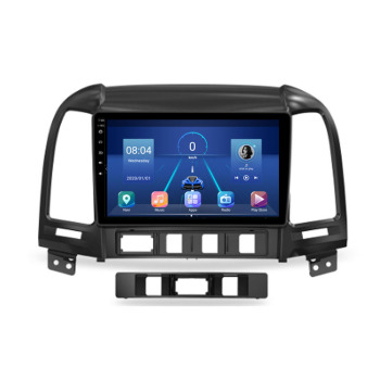 4G LTE Android 10.1 For HYUNDAI SANTA FE 2005 - 2008 2009 2010-2011 2012 Multimedia Stereo Car DVD Player Navigation GPS Radio image