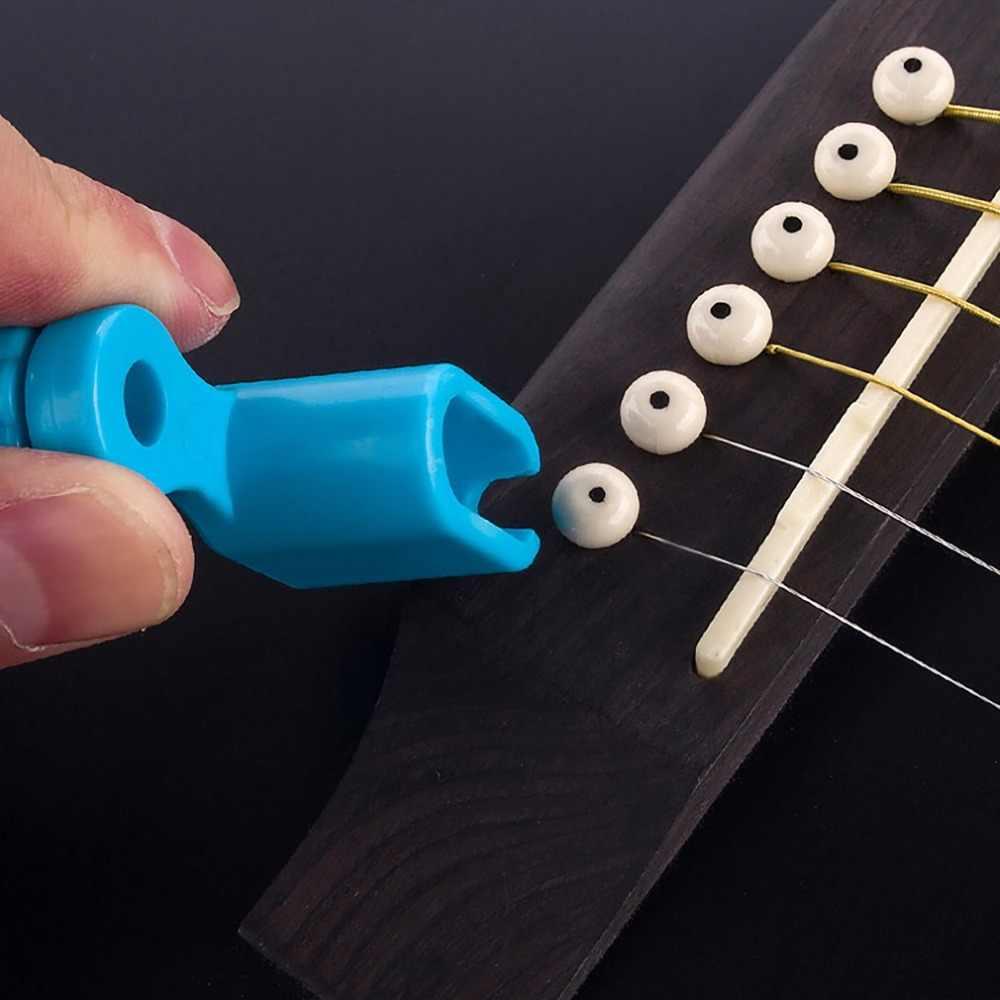 Guitare chaîne enrouleur outil de remplacement pont broche dissolvant Grover pour guitare électrique acoustique basse ukulélé accessoires