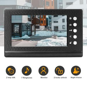 Anchencoky Doorbell-Monitor Phone Video-Intercom-System Night-Vision for Support IR 7inch