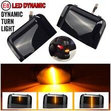 Clignotant LED dynamique pour Peugeot Boxer, Fiat Ducato, Citroen Jumper RAM, clignotant, indicateur de miroir latéral, 2 pièces