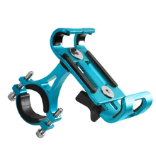 Bike Cellphone Holder Mobile Support for Mountain Bicycle Handlebar & Stem Aluminium Alloy Adjustable Mob