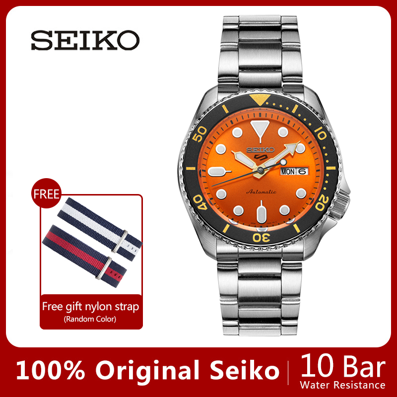 Image 5 - 100%Original Official New SEIKO Watch Automatic Mechanical Diver Waterproof  Luminous Men'sWatch Asia-in Mechanical Watches from Watches