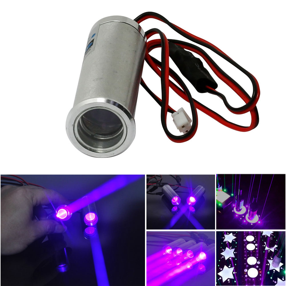 Fat Beam 405nm  250mW Violet/Blue Laser Diode Module For KTV Bar DJ Stage Lighting