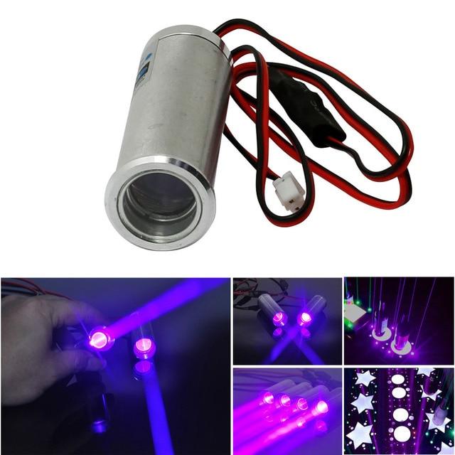 Fat Beam 405nm  250mW Violet/Blue Laser Diode Module for KTV Bar DJ Stage Lighting