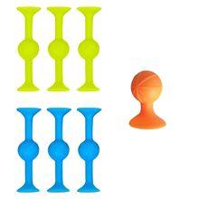 8cm ao ar livre indoor pops silicone otário dardos trickshot pegajoso trickshot jogo de mesa competitivo quente antistresstoy popodartsgame