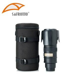 Image 4 - Bolso de cámara de alta calidad, funda de lente Kamera, resistente al agua, a prueba de golpes para Canon, Nikon, Sony, Protector de lente, cinturón para fotografía