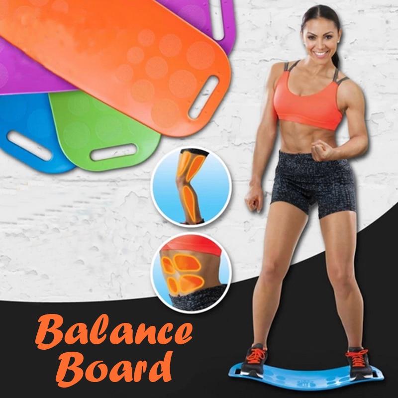 ABS Tool Twisting Fitness Balance Board Core Workout Yoga Twister Training Abdominal Muscle Leg Balance Pad Prancha Fitness New