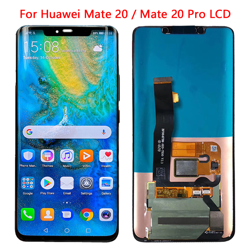 6.39'' LCD Display For Huawei Mate 20 Pro LCD Touch Screen With Frame Digitizer For Huawei Marte 20 LCD Huawei Mate 20 Pro LCD