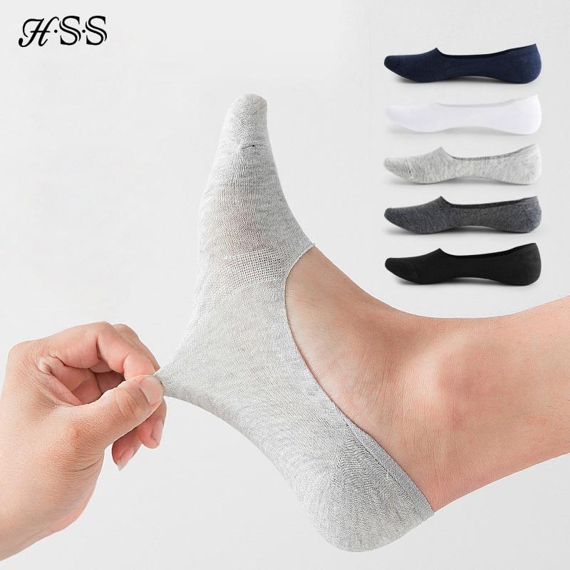 5 пар/лот мужские хлопковые носки, высокое качество, на каждый день, дышащие невидимые носки-башмачки до лодыжки короткие спортивные мужские...