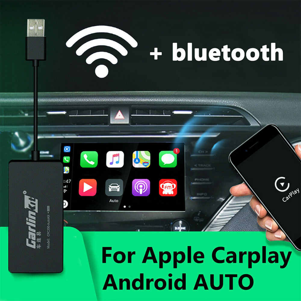 Bezprzewodowy inteligentny Link do bluetooth apple ios CarPlay Dongle samochód Android Navigatie Carlinkit Speler Mini USB Carplay Auto Stok