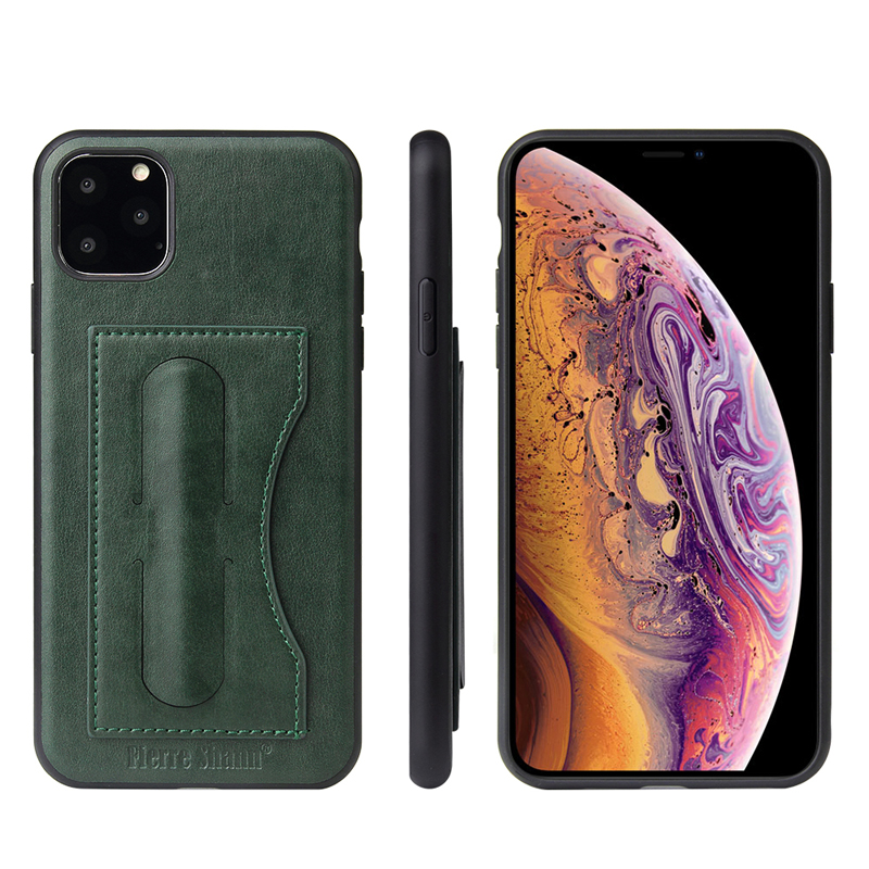 Fashion Faux Leather Card Holder Case for iPhone 11/11 Pro/11 Pro Max 38