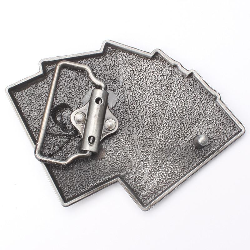 Skull skeleton belt buckle Belt DIY accessories Western cowboy style Smooth belt buckle Punk rock style k30
